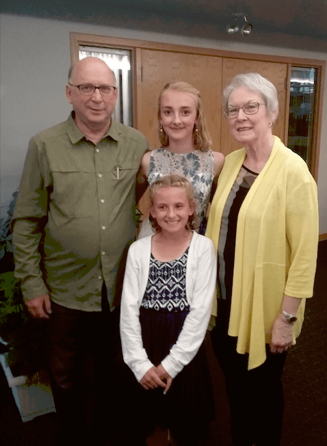 lynn keating with family