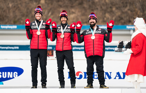 canadians take bronze in open relay in pyeongchang