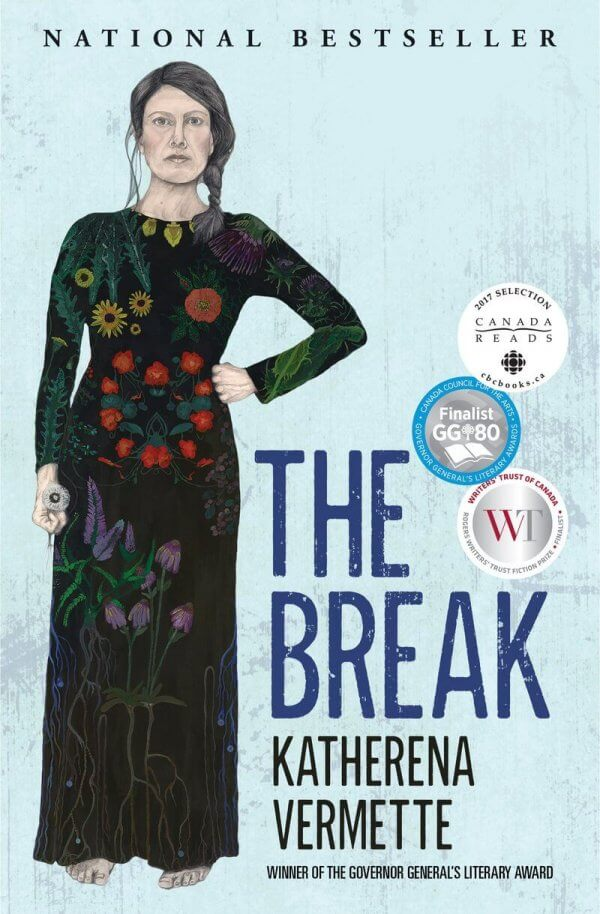 2018-19 Writer-in-Residence, Athabasca University, Katherena Vermette, The Break, river woman, A Girl Called Echo,