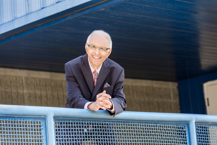 Esmail Bharwani, Athabasca University's 2019 Distinguished Alumni Award winner, embodies lifelong learning.