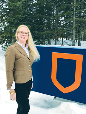 Jennifer Schaeffer, Athabasca University's Vice President of Information Technology and Chief Information Officer.
