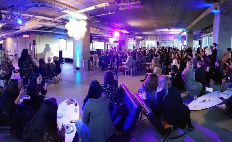 The SHEInnovates Alberta event in Edmonton on Oct. 22, supported by Athabasca University, drew a large crowd.