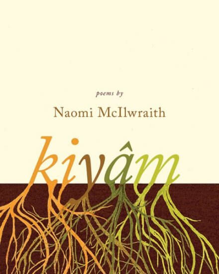 A book cover of kiyam, byt Naomi McIlwraith, available from AU Press.