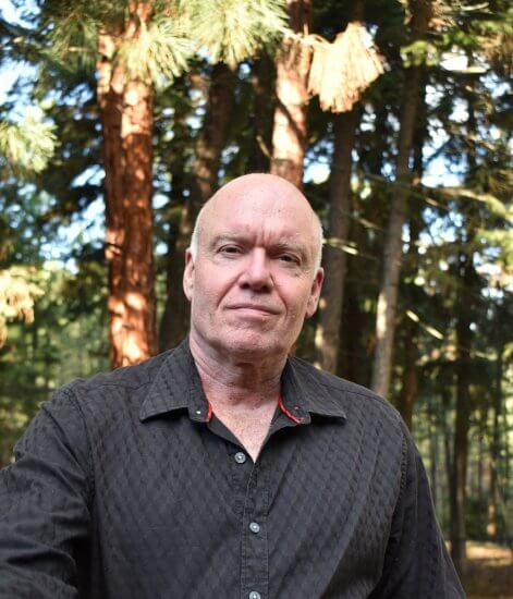 Dr. Douglas MacLeod, interim dean of Athabasca University's Faculty of Science and Technology, pictured at his Okanagan home.