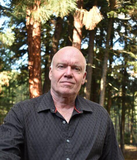 Dr. Douglas MacLeod pictured at his Okanagan home.