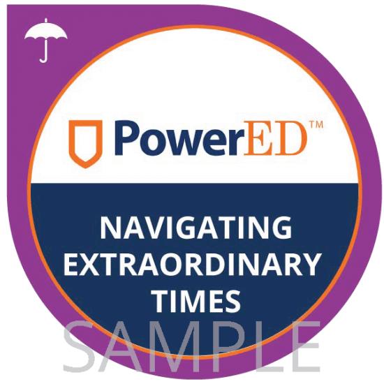 Navigating Extraordinary Times digital badge