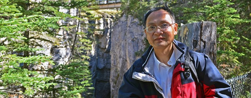 Picture of Dr. Junye Wang outdoors