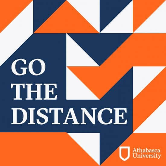 Go The Distance podcast logo