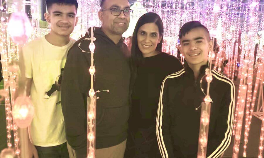poonam, michael, and sons