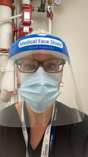 Jennifer in PPE