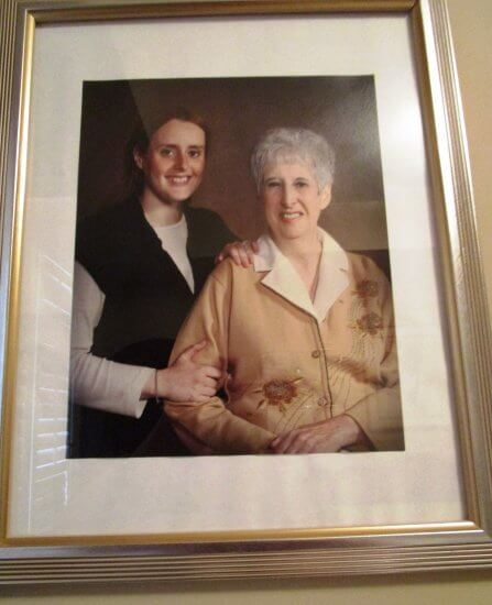 Norma Inch and her daughter lifelong learning online university