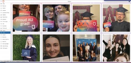 Images of AU grads for Convocation 2021
